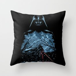 Evil never dies Throw Pillow