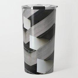 brutalist angles - national theatre london Travel Mug
