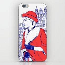 Clarissa Dalloway - Virginia Woolf iPhone Skin