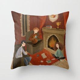 Gryffindor Throw Pillow