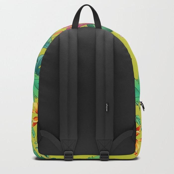 Oriental Flowers Backpack