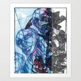 Temporalität Art Print