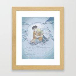Siren Bay Framed Art Print