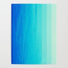 Blue Buffer Poster