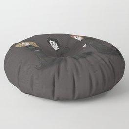 the golden trio Floor Pillow
