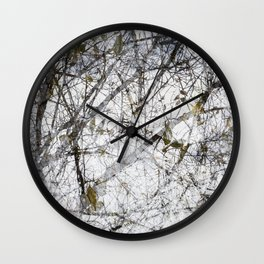 Winter Solstice Wall Clock