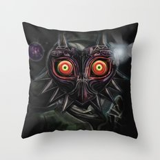 Legend of Zelda Majora's Mask Link Throw Pillow
