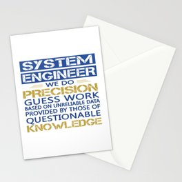 SYSTEM ENGINEER Stationery Cards