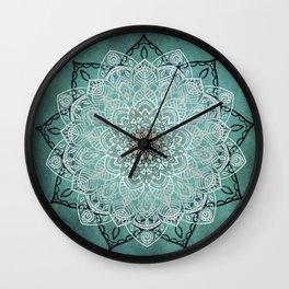 Mystic Mandala Wall Clock