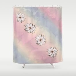 lily-white Shower Curtain
