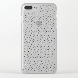 Minimal Pattern :: Triangles Clear iPhone Case