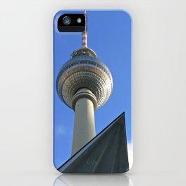 Berlin TV Tower, Alex iPhone Case