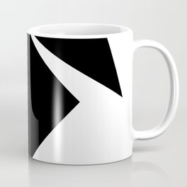 Abstract Modern Minimalist shapes Graphic Square triangles - balance Coffee Mug