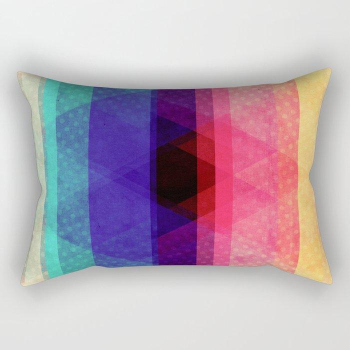 The heart of the mountain Rectangular Pillow