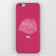 Spidermaps #1 Light iPhone & iPod Skin