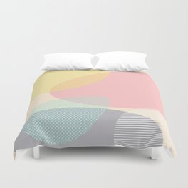 Lost In Shapes #society6 #buyart Duvet Cover