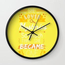 Mystery of Margo - Yellow Wall Clock