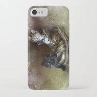kittens iPhone & iPod Cases featuring Kittens by Julie Hoddinott