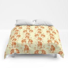 Marine corals Comforters