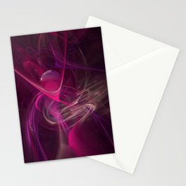 Pink swirl Stationery Cards