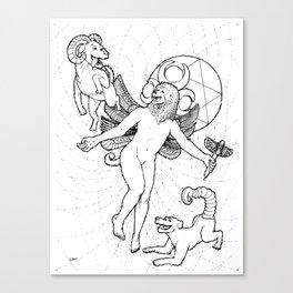 Moon Magus Canvas Print