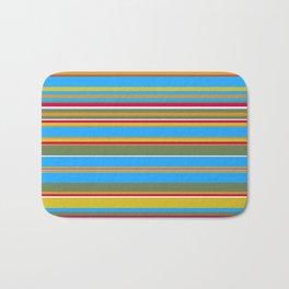 Stripes-012 Bath Mat