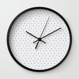 Mini Anchors Wall Clock