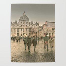 Conciliazione Street, Rome, Italy Poster