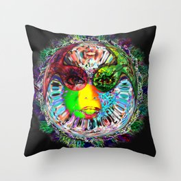Life on another planet Throw Pillow