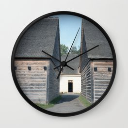Raid Canada: Fort William Historical Park Wall Clock