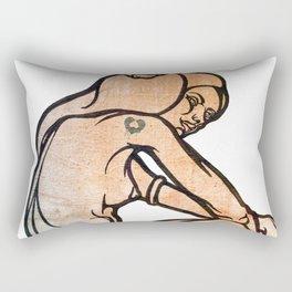 aesthetics Rectangular Pillow