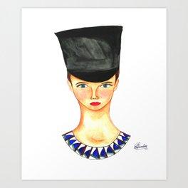 Soldier Girl Art Print