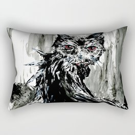 Demon Kitty Rectangular Pillow