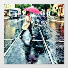 Rain I Canvas Print
