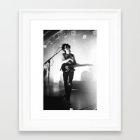 matty healy Framed Art Prints featuring Matty Healy by 1999 Clothing Company