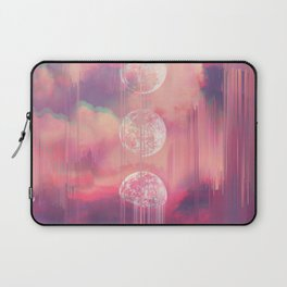 Moontime Glitches Laptop Sleeve