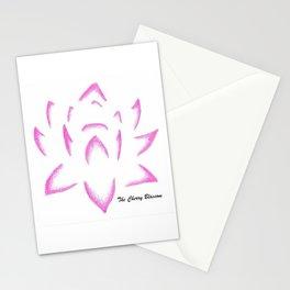 Fiore di loto Stationery Cards