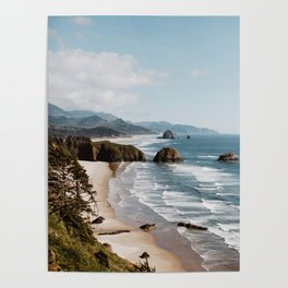 Oregon Coast Cannon Beach Poster