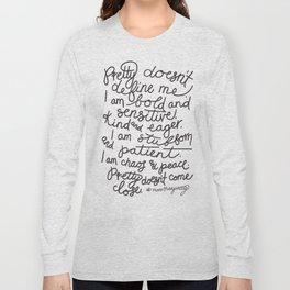 #morethanpretty Long Sleeve T-shirt
