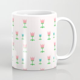 Cute Tulip Pattern Coffee Mug