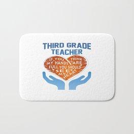 3rd Grade Teacher Bath Mat