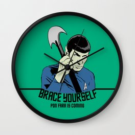 Pon Farr Is Coming Wall Clock