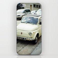 PARIS VI - FIAT 500 iPhone & iPod Skin