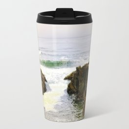 Yachats Oregon - Upon The Rocks Travel Mug