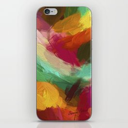 Christmas Light Abstract iPhone Skin