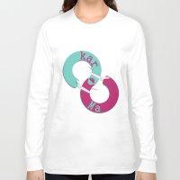 karma Long Sleeve T-shirts featuring karma  by Daniac Design