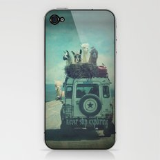 NEVER STOP EXPLORING II iPhone & iPod Skin
