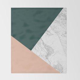Stylish Marble Throw Blanket
