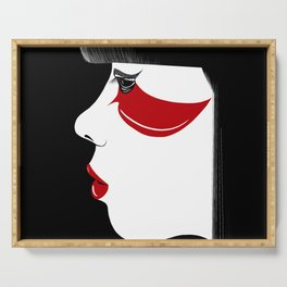 Modern Geisha Serving Tray