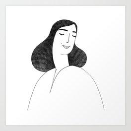 Lilie Art Print